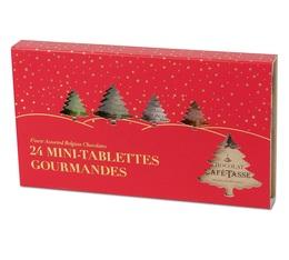 Boîte Noël Découverte de 24 mini-tablettes gourmandes - Café-Tasse