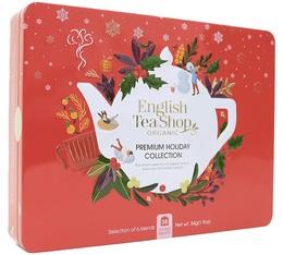 Coffret Premium Holiday Rouge 36 sachets - English Tea Shop