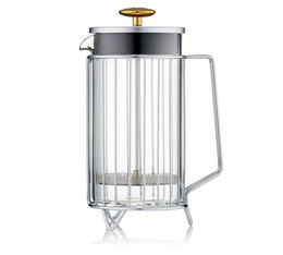Barista & Co Corral stainless steel French Press - 8 cups/1 litre