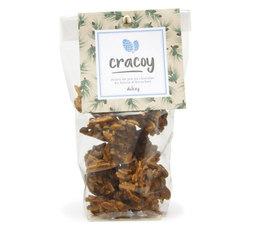 Pignons de pin et amandes torréfiés chocolat dulcey - Sachet 100g - Cracoy