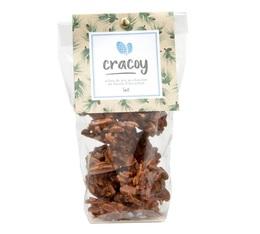 Pignons de pin et amandes torréfiés chocolat lait - Sachet 100g - Cracoy