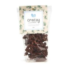 Pignons de pin et amandes torréfiés chocolat noir 100g - Cracoy