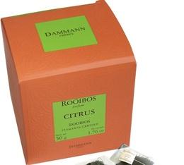 Rooibos Citrus - 25 Cristal® sachets - Dammann Frères