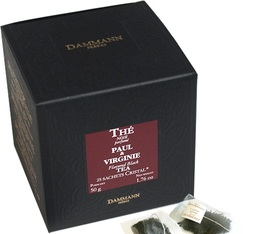 Dammann Frères Paul & Virginie flavoured black tea - 25 Cristal® sachets