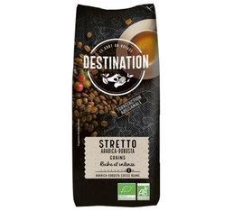 Café en grains Bio Destination Stretto Italiano - 1kg