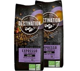 Café en grains bio Destination Expresso pur Arabica - 1kg