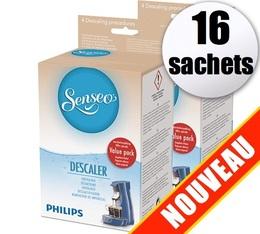 2 boîtes de 8 Détartrants Senseo HD7012 Philips - (x16 sachets)
