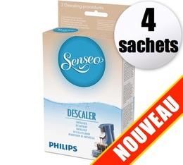 1 boîte de 4 Détartrants Senseo HD7011 Philips (Produit officiel)