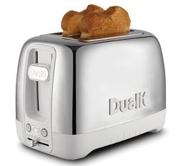 Toaster Dualit Domus 2 larges fentes Porcelaine et Inox