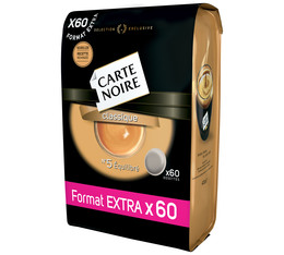 N°5 Classic Extra Size soft coffee pods x60 - Carte Noire