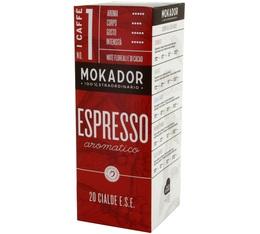 Mokador Castellari Espresso Aromatico ESE pods x 20