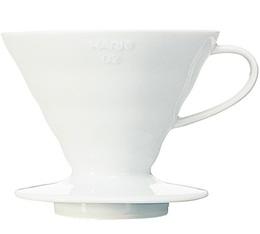 Hario V60 white cone dripper VDC-02 4 cups