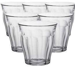 6x25cl Picardie glasses by Duralex