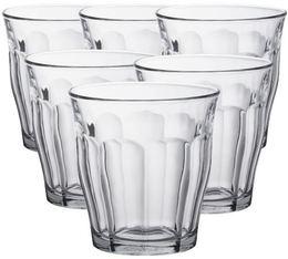 6x31cl Picardie glasses by Duralex