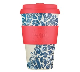 Ecoffee Cup 'Waimea Bay' Reusable & Biodegradable mug - 400ml - Surfers Against Sewage edition
