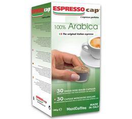 30 x Capsules  100% Arabica pour Cubo Espresso Cap