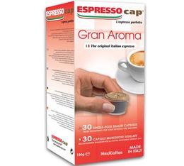 30 x Capsules Gran Aroma pour Cubo Espresso Cap