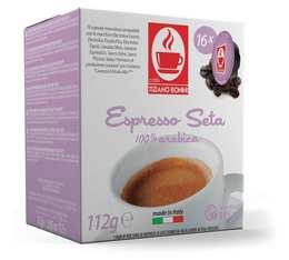 Caffè Bonini Espresso Seta capsules for Lavazza A Modo Mio machines x16