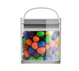 Boîte conservatrice en plastique avec vide d'air EVAK - S basse 420 mL - Prepara