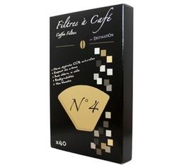 Filtre à café Destination n°4 biodégradable x40