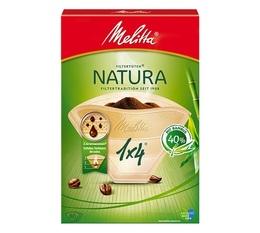 Melitta Natura 1x4 filters - Made of 40% bamboo