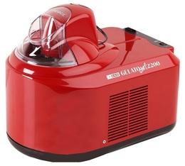 Machine à glace Gelato chef 2200 Rouge - Nemox