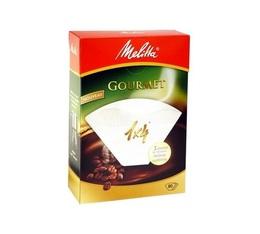 80 Filtres à café 1X4 Gourmet - Melitta