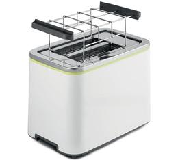 Toaster Metropolis Line 2 fentes blanc et vert - Beko