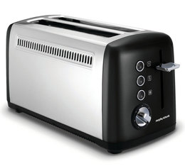 Grille-pain Accents 2 longues tranches Noir - Morphy Richards