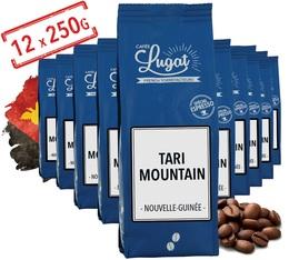 Café en grains : Papouasie Nouvelle-Guinée - Tari Mountain - 12x250g - Cafés Lugat