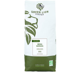 Green Lion Coffee 'Moka Baraka' organic Ethiopian coffee beans - 1kg