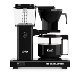Cafetière filtre Moccamaster HBG Noire 1,25L + offre cadeaux