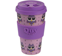 QuyCup 'Owl' eco-friendly reusable cup - 400ml