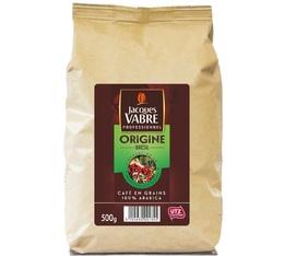 Café en grains Jacques Vabre Origine Brésil 100% Arabica - 500g