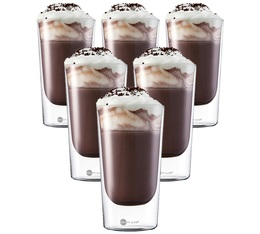 Jenaer Glas set of 6 Hot'n Cool double wall glasses - 350ml