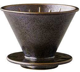 Dripper Kinto SCS-S01 conique noir 4 tasses
