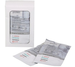 Cleaning wipes for stainless steel x5 - Bosch