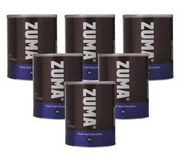 Lot de 6 Chocolat chaud à l'italienne en poudre 12kg - Zuma