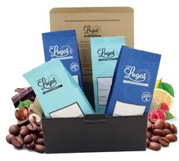 Coffret Découverte Cafés Lugat (4 cafés en grains x 250g)