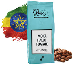 Café en grains Ethiopie : Moka Hallo Fuafate - 250g - Cafés Lugat