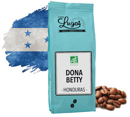 Cafés Lugat 'Dona Betty' organic coffee beans from Honduras - 250g