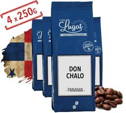 Café en grains : Panama - Don Chalo - 1Kg - Cafés Lugat