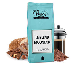 Café moulu pour cafetière à piston : Le Blend Mountain - 250g - Cafés Lugat