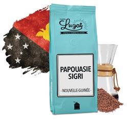 Café moulu pour cafetière Hario/Chemex : Nouvelle-Guinée - Papouasie Sigri - 250g - Cafés Lugat