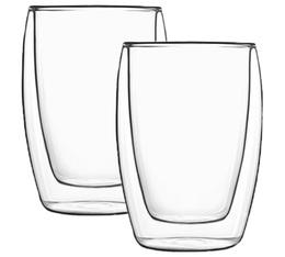 2x27cl 'Thermic Glass Accademia' double wall glasses - Luigi Bormioli