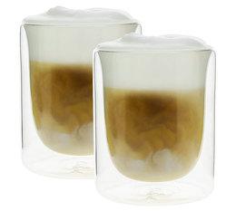 PYLANO set of 2 'Mila' double wall cappuccino glasses - 250ml