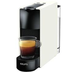 Machine à capsules Nespresso Krups Essenza Mini YY2912D Pure White + offre cadeau