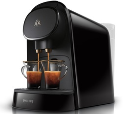 Machine à capsules L'Or Barista Piano Noir LM8012/60 - Philips + Offre Cadeau