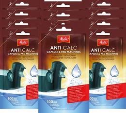 Melitta Anti Calc liquid descaler for capsule & pad machines - 12 doses