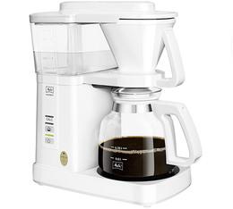 Cafetière filtre Melitta Excellent 5.0 blanche + offre cadeaux